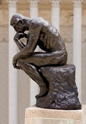 The thinker marketing for museums