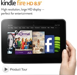 "Kindle Fire HD 8.9"" Tablet Deals"