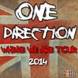 One Direction Tickets to Second Ford Field Show in Detroit, Michigan...