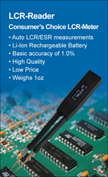 LCR-Reader akin to Smart Tweezers LCR-meter