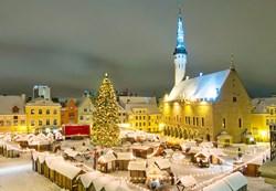Christmas market at Tallinn, Estonia