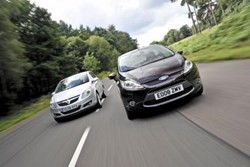 Vauxhall and Ford are most popular manufacturers