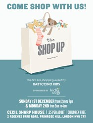 Babyccino Shop Up Details