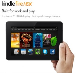 "All-New Kindle Fire HDX 7"" Tablet"