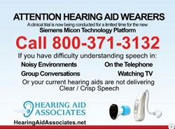 Hearing Aid Associates Clinical Trial Information