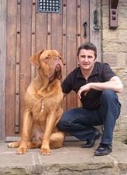 Stephen and his dog Milo