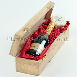 Moet & Crab Pate from Flowers24Hours online gift shop London UK