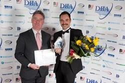 Matt Hawkins wins Entrepreneur of the Year at Dorset Business Awards