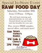 Funny Fur Hosting Raw Food Day Events for Pets