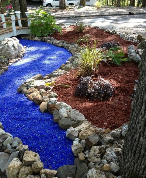 Close the loop celebrates 13 year anniversary paving the for Different color rocks for landscaping