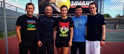 Laura Robson forms an agreement with childhood Coach Nick Saviano to prepare for 2014 WTA Tour season