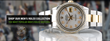 Certified Timepieces Offers the 'Men's Rolex Black Mother of Pearl...