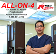"Apple Valley, MN Dentist Dr. Ranier M. Adarve Offers ""All on 4"" or ""Teeth in A Day"" Treatment for Patients with all Missing Teeth"