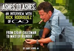 cigars, cao cigars, rick rodriguez, rick rodriguez cao cigars, cigar magazine