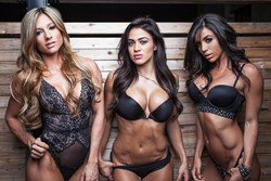 Paige Hathaway, Brittany Coutu and Ainsley Rodriguez