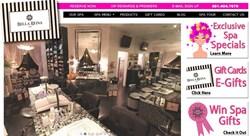 Bella Reina Spa Relaunch Website