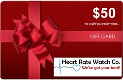 complimentary gift certificate, cyber monday, heart rate watch company