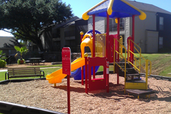 New Playground Equipment for Apple Apartments, Irving Texas