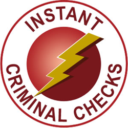 Instant Criminal Background Checks