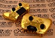 ExtremeRate.com Releases Chrome Gold Controller Shells for New Xbox One and PS4