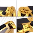 ExtremeRate made Chrome Gold PS4 Controller Buttons