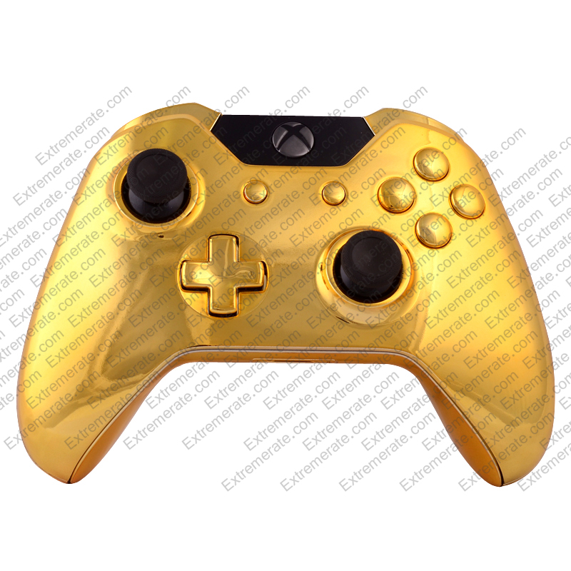 MightySkins Protective Vinyl Skin Decal for Microsoft Xbox ... |Gold Xbox One Controller Skin