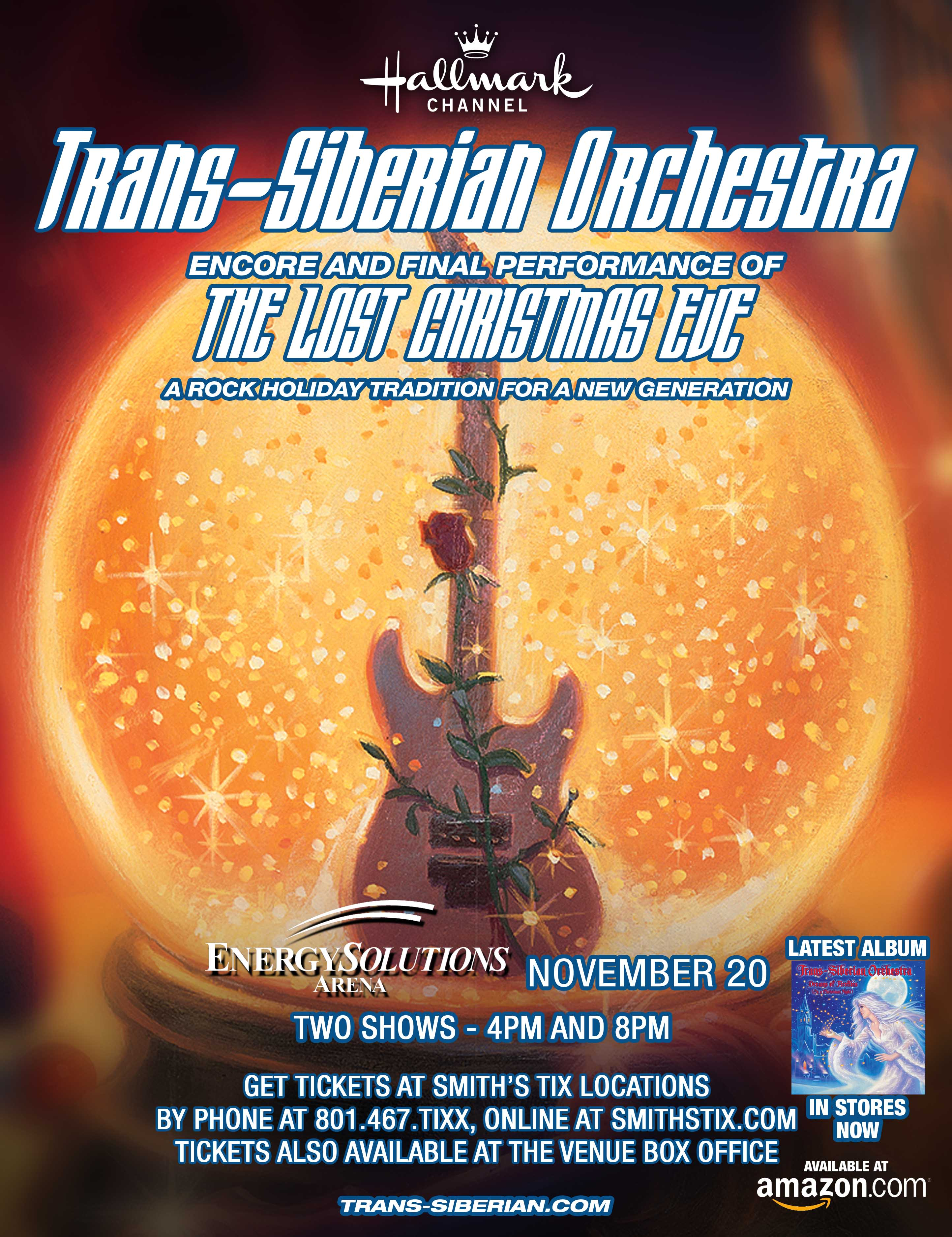 Trans-Siberian Orchestra Tickets 2016 2017 Schedule & Tour Dates