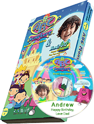 Personalized Photo DVD ABC Monsters