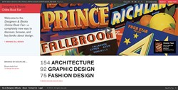 Online Design Book Fair