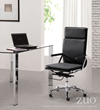 Lider Plus 214231 Chair and Slim Dining Table 102125 From Zuo Modern