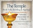 The Temple NYC Book Event