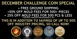 custom challenge coins, military coins, coin company, custom coins
