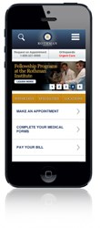 Rothman Institute Mobile Site Home Page