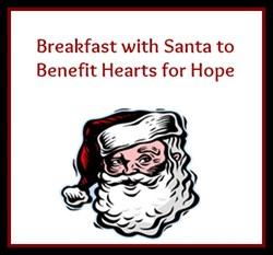 Breakfast with Santa Benefiting Hearts for Hope