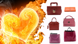 leather purses and leather handbags