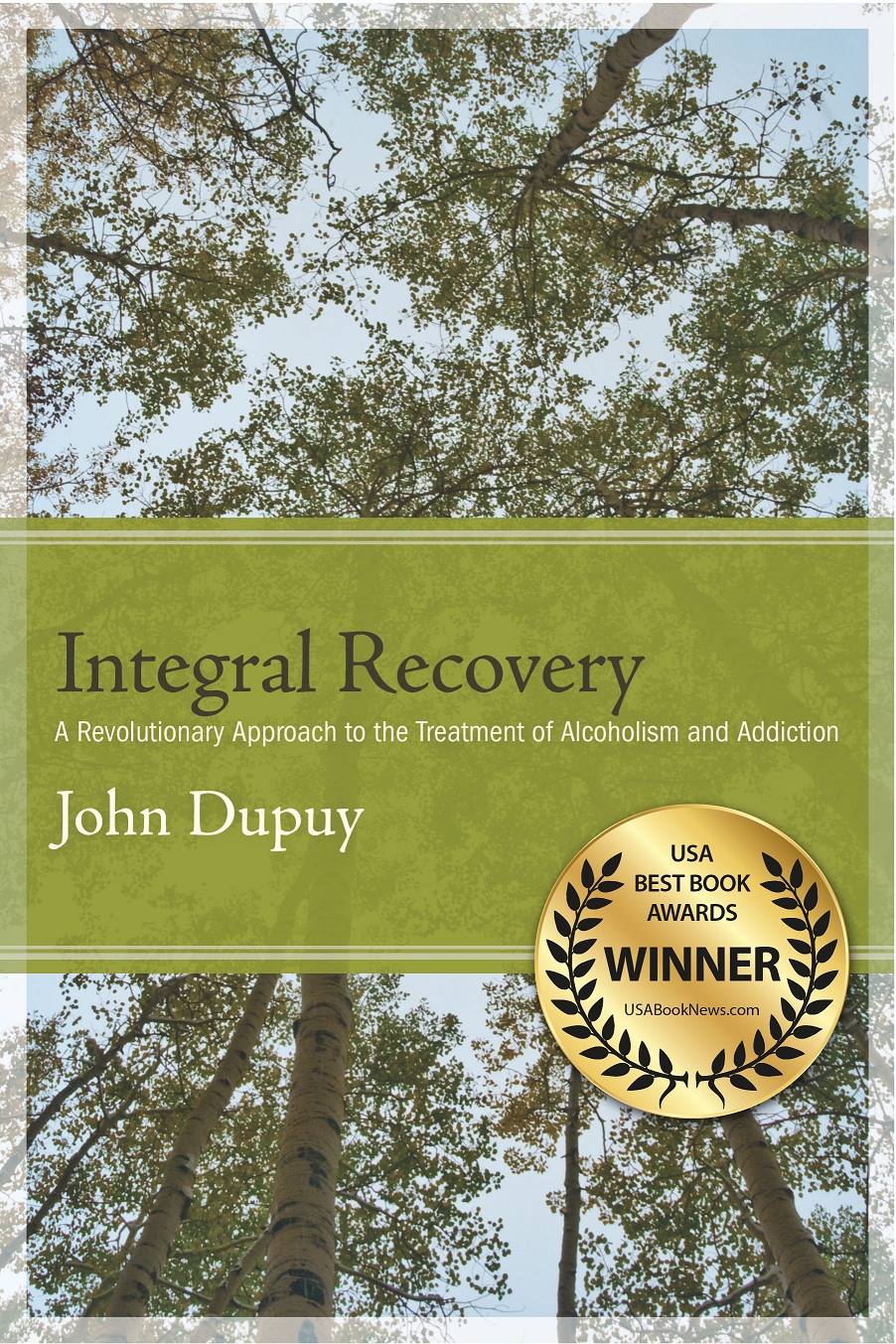 Best Book Cover Awards : Groundbreaking book on recovery from addiction and