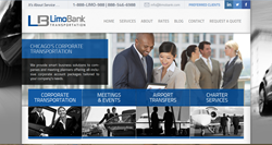 LimoBank Transportation Chicago Homepage