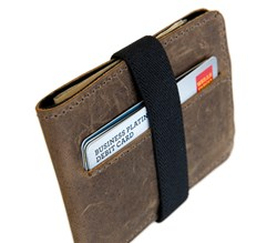 Victor Leather Wallet—brown leather