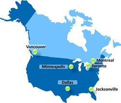 Data Centers Dallas, Jacksonville, Minneapolis, Montreal, Toronto, Vancouver.  Interconnection & Colocation Services.