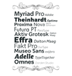 Extensis Releases Top 10 Web Fonts Used in 2013 from WebINK