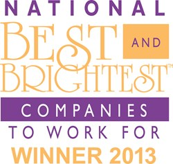 Best and Brightest Companies to Work for awarded by the National Association for Business Resources
