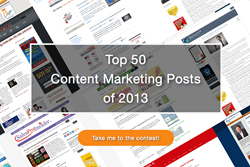 Top 50 Content Marketing Posts of 2013
