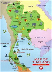 Thailand Weather Map.Book Now With Iflybusiness Com For Discounted Business Or First