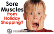"""Sore Muscles from Holiday Shopping? Try All Natural Topricin for Pain"" Read the full review here: http://exm.nr/IG47gz"