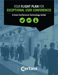 Your Flight Plan for Excetional User Conferences