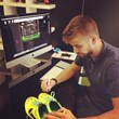 Gerard Pique donated the boots he played in for El Classico