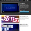 New 3D Text Plugin for Final Cut Pro X Released by Pixel Film Studios