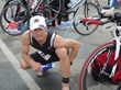 Triathlete James Chankin using MiraFlex