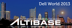 Altibase at Dell World 2013