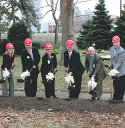 Goodale Landing Groundbreaking